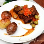 Braised Beef Provencale with Olives