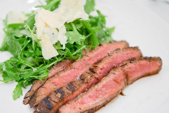Grilled Beef Tagliata with Wild Arugala Salad